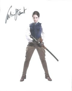 "Catrin Stewart ""Jenny Flint"" from Doctor Who hand Signed 10 x 8 Photograph (10003)"